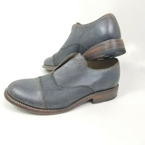 Bed Stu Womens Dip Dye Loafers Oxfords Size 10